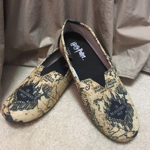 Harry Potter Marauder's Map Shoes